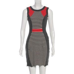 Yoana Baraschi | Striped Sleeveless Mini Dress S